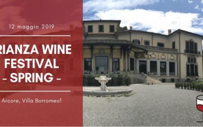 Brianza Wine Festival SPRING 2019 – 12.05.2019