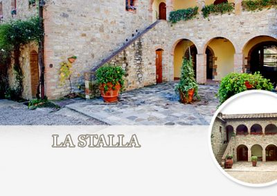San Fabiano Calcinaia - Appartamento La Stalla - Appartamenti in affitto Siena - Siena apartments for rent