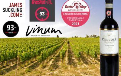 Ratings Chianti Classico Gran Selezione CELLOLE 2015 DOCG BIO