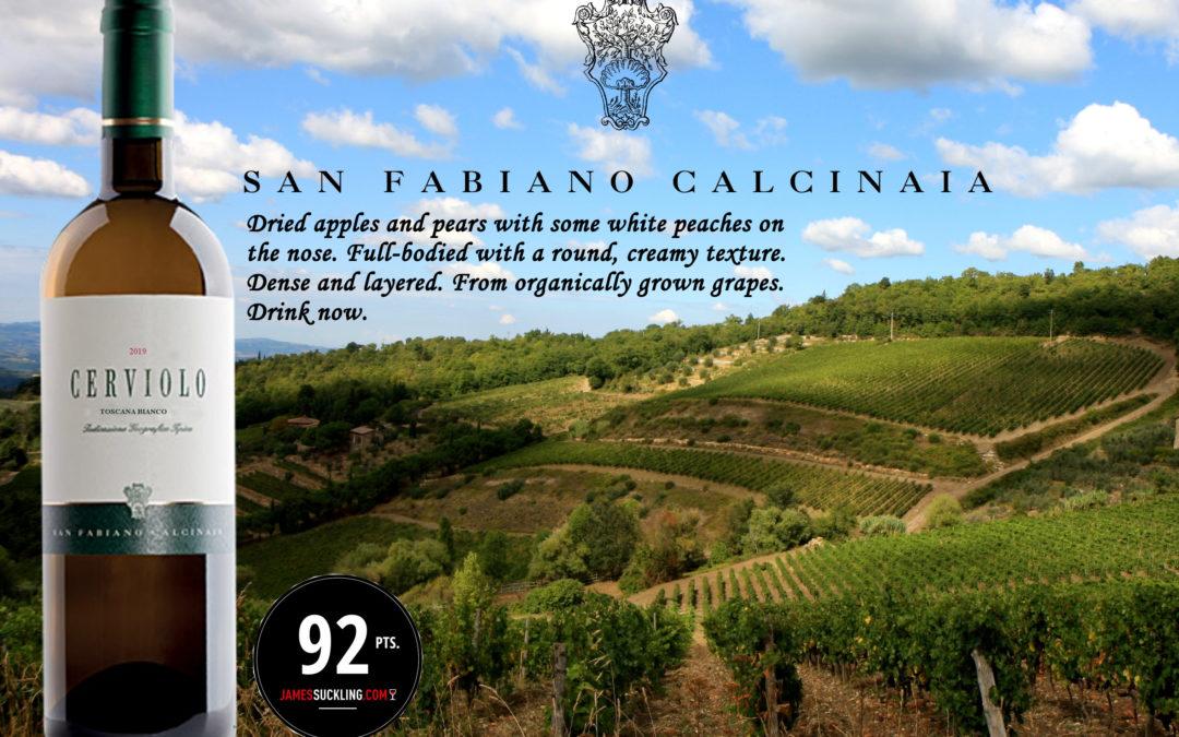 Cerviolo Bianco 2019 BIO – 92/100 JAMES SUCKLING